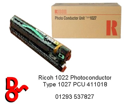 Ricoh 1022 Photoconductor Type 1027 PCU 411018