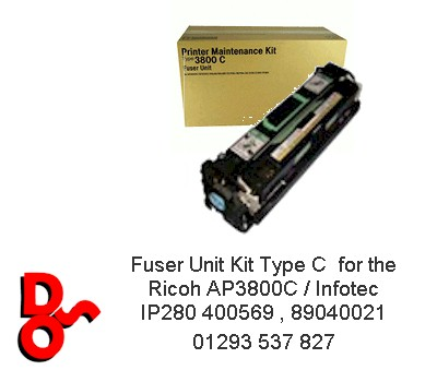 Fuser Unit Kit Type C for the AP3800C 400569 , 89040021