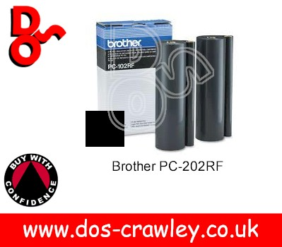 Brother Genuine PC-202RF Imaging Film, PC202RF x 2