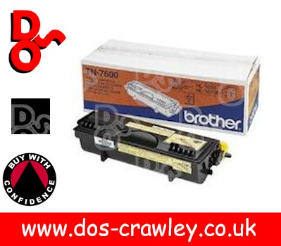 Toner Black Genuine Brother - TN7600