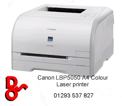 # Canon i-SENSYS LBP5050n Series A4 Colour Laser Printer