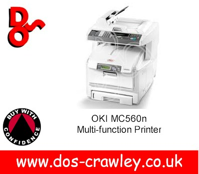 "OKI MC560n Multi-function Printer ""Refurbished"""